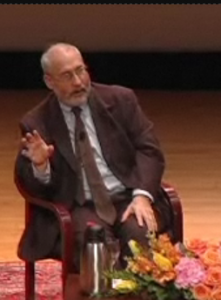 Joseph Stiglitz during 2008 Asia Society interview