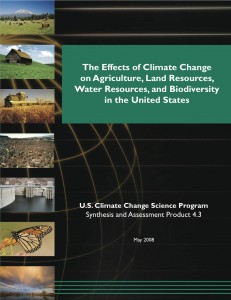 The Effects of Climate Change on Agriculture, Land Resources, Water Resources, and Biodiversity in the United States