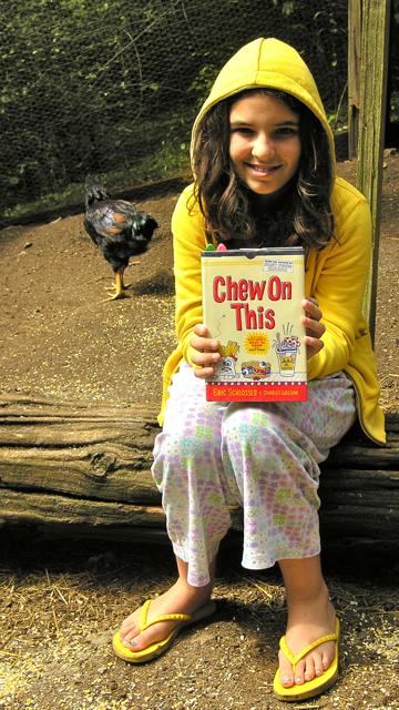 Fast Food Nation Book Cover ~ Book review chew on this