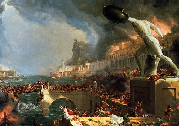 the fall of Rome by