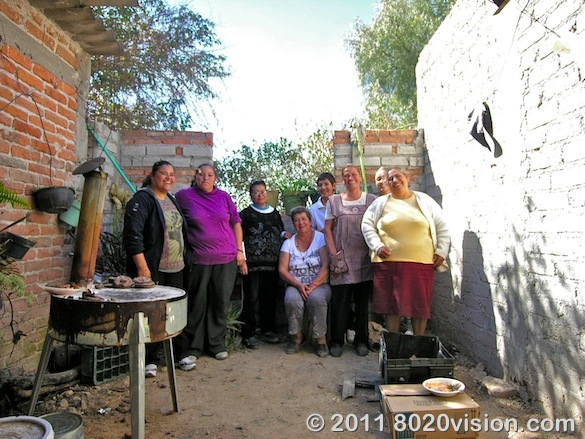 The women of Penon de los Banos farm cooperative, Mexico