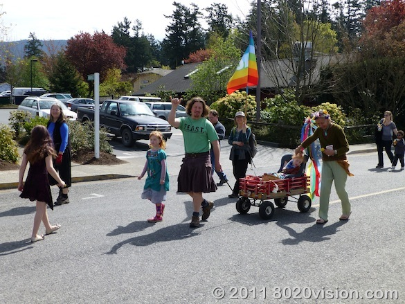 Orcas Island Earth Day Parade